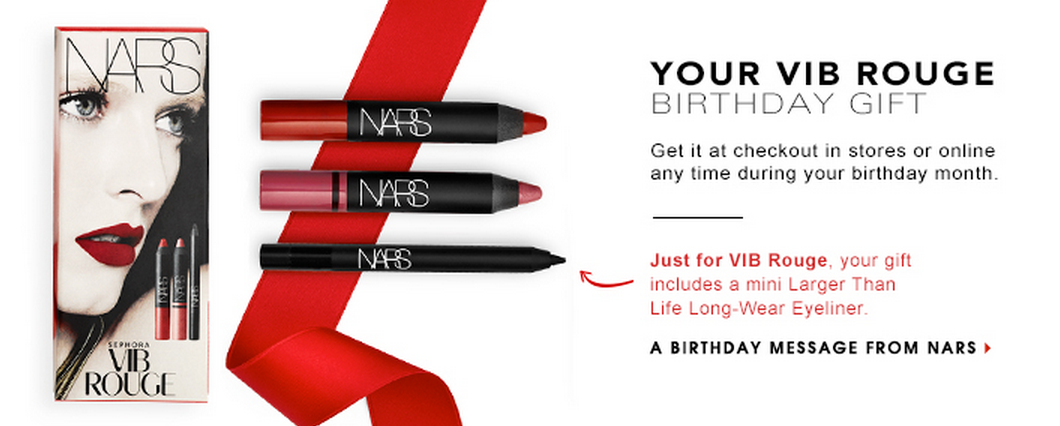 Birthday Gift From Nars